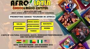 Nigeria Afro Latin Dance Festival 2018