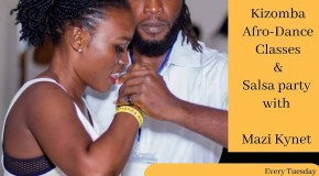Tuesday Kizomba – AfroDance class at Fogo